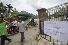 Shalat Jumat tidak dilaksanakan di masjid-masjid di Banjarmasin