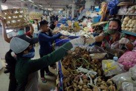 Pasar Badung mulai sistem belanja online
