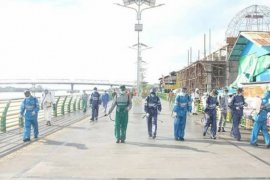 Kodam Tanjungpura kembali semprotkan disinfektan cegah COVID-19