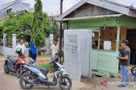 Warga Villa Kenali swadaya buat bilik penyemprotan disinfektan