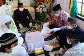 Kemenag Belitung sebut siapa saja terlibat acara nikah wajib gunakan masker