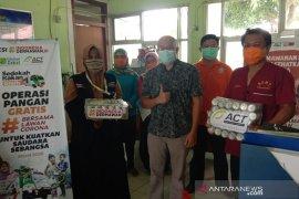 ACT salurkan makanan gratis ke tim medis Bengkulu