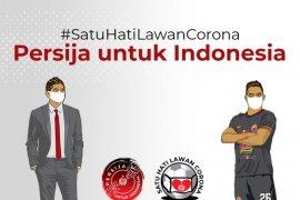 Persija  Jakarta  kolaborasi dengan kitabisa galang dana lawan COVID-19