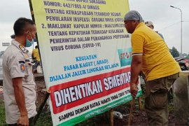 Kegiatan pasar kaget Ahad di Sukabumi diberhentikan sementara