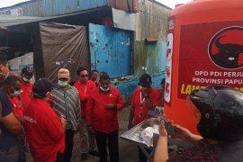 PDIP sebar tandon cuci tangan di sejumlah titik Manokwari
