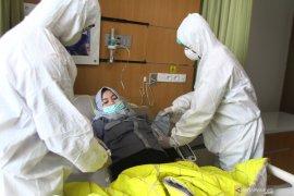 Tiga orang pasien positif COVID-19 di Kota Malang  sembuh dan pulang