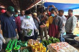 Bupati: Persediaan bahan kebutuhan pokok di pasar aman