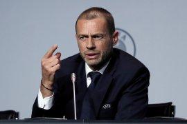 Presiden UEFA akui musim kompetisi ini bisa saja tak selesai jika tak dimulai akhir Juni