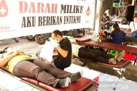 PDDI Asrama Kayumas Denpasar sumbangkan darah untuk kemanusiaan