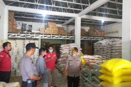 Polres Bangka Barat pantau ketersediaan bahan pangan pokok