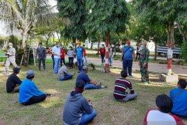 Satu pekerja proyek Lanal Saumlaki dikarantina di Ambon, diduga terinfeksi COVID -19