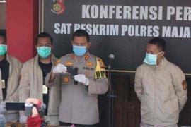 Enam pencuri bermodus mengaku polisi, diciduk Polres Majalengka
