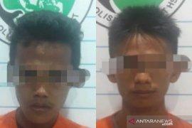 Dua tersangka narkoba di HST ini nekat transaksi di halaman masjid