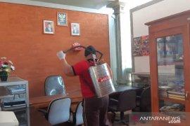 Pramuka Kwarda Bali lakukan penyemprotan disinfektan