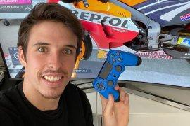 Alex Marquez memenangi balapan virtual perdana MotoGP