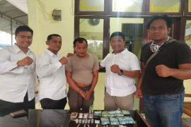 Polisi Binjai Barat tangkap Andi alias Ahok bandar sabu-sabu