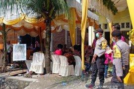 Cegah corona, polisi hentikan resepsi pernikahan dan khitanan di Nagan Raya