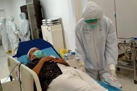 127 pasien positif corona jalani perawatan di RS darurat Wisma Atlet
