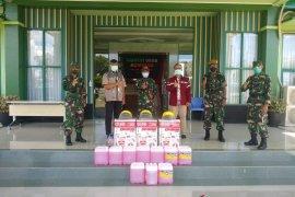 Pupuk Kaltim Salurkan Bantuan Antisipasi Covid-19 di Bontang
