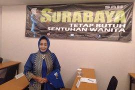 Bacawawali Surabaya bantu alat semprot disinfektan ke 31 PAC Demokrat