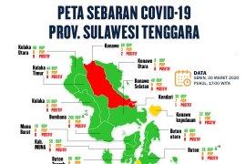 Update COVID-19, 1.456 ODP di Sultra dinyatakan aman