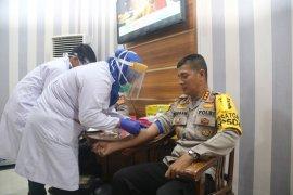Pejabat utama Polda Aceh jalani tes COVID-19