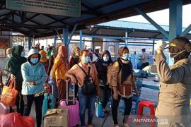 Jumlah ODP di Riau melonjak tembus 10.000 seiring pulangnya TKI dari Malaysia