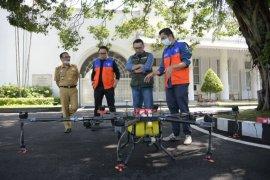 Jawa Barat manfaatkan drone untuk cegah virus corona