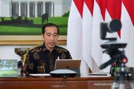 Presiden Jokowi keluarkan PP dan Keppres terkait kedaruratan  kesehatan