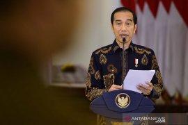 Presiden : Keterlibatan Polri tangani COVID-19 sangat dibutuhkan