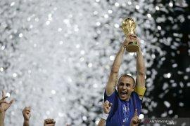 Ini pesan emosional Cannavaro untuk Italia di tengah pandemi corona