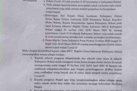 MUI Bekasi serukan umat Islam shalat Jumat diganti Dzuhur