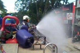 BPBD Tangerang gelar penyemprotan disinfektan lanjutan di tiga kecamatan