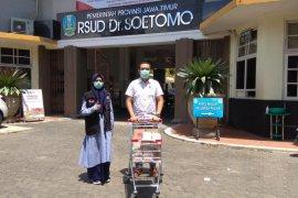 ACT Jatim distribusikan bantuan pangan kepada tenaga medis