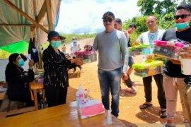 LMP Mahakam Ulu Cegah COVID-19 di perbatasan negara