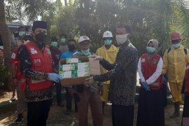 Cegah Corona, PMI Tanah Bumbu bagikan masker gratis