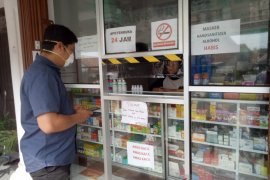 Polisi Bangka Barat pantau apotik cegah penimbunan masker