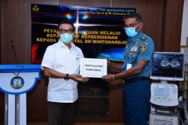 Kantor Staf Presiden salurkan bantuan alat kesehatan ke 13 RS rujukan COVID-19