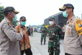 Akses masuk wilayah Mojokerto mulai diperketat