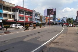 Kawasan Jalan Gajah Mada Pontianak mulai ditutup cegah COVID-19