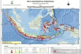 BMKG: 965 kali gempa terjadi selama Maret, satu diantaranya di Sukabumi