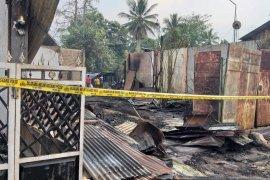 10 ruko terbakar di Aceh Timur