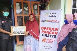 ACT Malang gelar operasi pangan gratis di Kota Batu