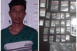 Miliki puluhan paket sabu, Bandar Babalan ditangkap Polisi Pangkalan Brandan Langkat