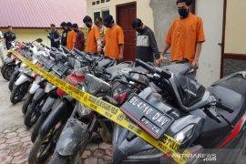 Polres Bener Meriah ringkus enam pelaku pencurian 14 unit sepeda motor