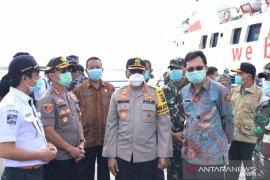 Wakapolda Babel cek pelaksanaan Operasi Aman Nusa di Bangka Barat