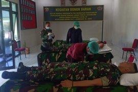 TNI sumbang 139 kantong darah cegah kekurangan stok saat pandemi COVID-19