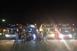 150 santri dari Lirboyo mudik ke Jambi, langsung jalani screening