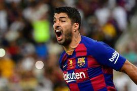 Barcelona mendapatkan suntikan semangat  dengan pulihnya lagi Luis Suarez