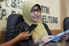 Penumpang angkutan udara di Bandara Bangka Belitung turun 21,02 persen